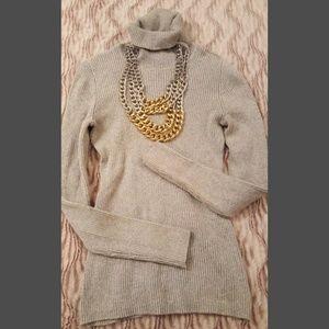 Gray & Silver Sweater